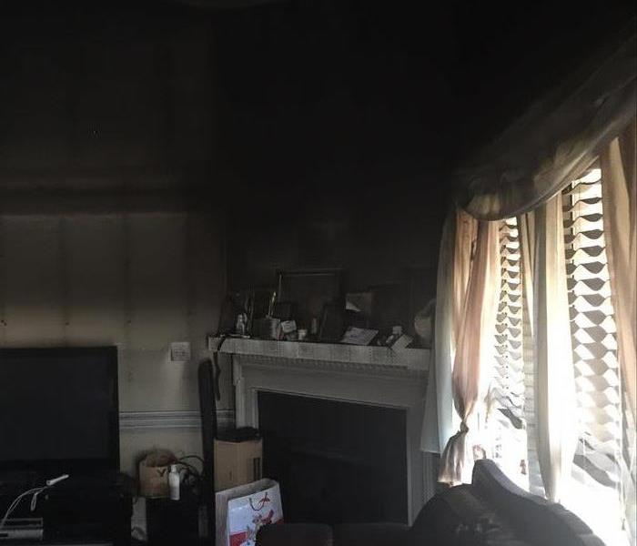 Smoke Damage in Thomasville Home Before