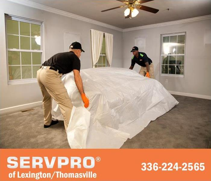 "Cleaning SERVPRO of Lexington/Thomasville can make it ""Like it never even happened."""